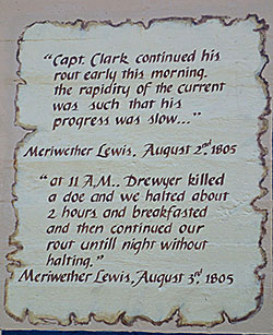 Meriwether Lewis, August 1805