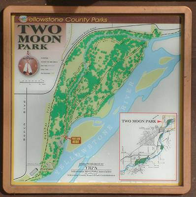Two Moon Map