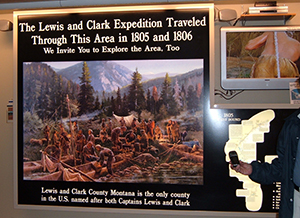 Lewis and Clark with GPS