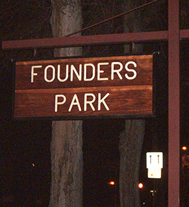 Founders Sign