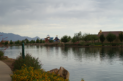 Rancho Sahuarita Lake 1