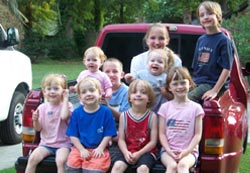 All Grandchildren Summer 2008