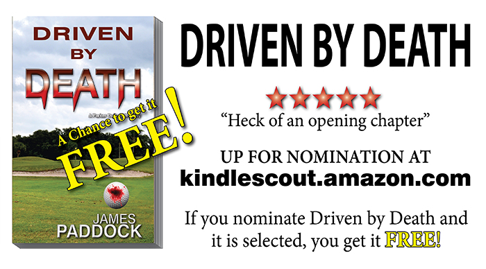 Driven by Death on Kindle Scout